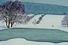 Téli táj - Szentantalfa